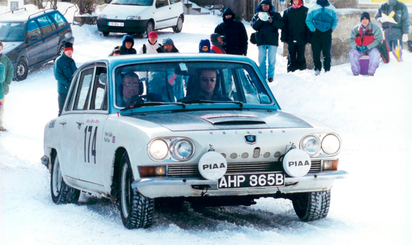 Triumph 2000 rally